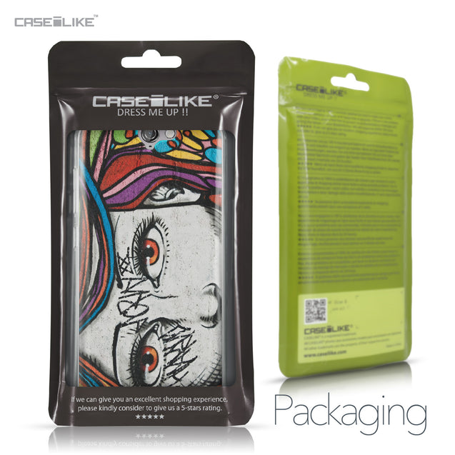 HTC One A9 case Graffiti Girl 2725 Retail Packaging | CASEiLIKE.com