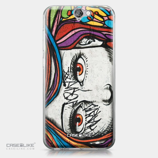 HTC One A9 case Graffiti Girl 2725 | CASEiLIKE.com
