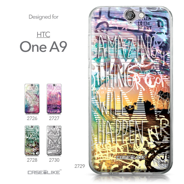 HTC One A9 case Graffiti 2729 Collection | CASEiLIKE.com