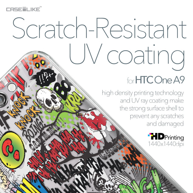 HTC One A9 case Comic Captions 2914 with UV-Coating Scratch-Resistant Case | CASEiLIKE.com