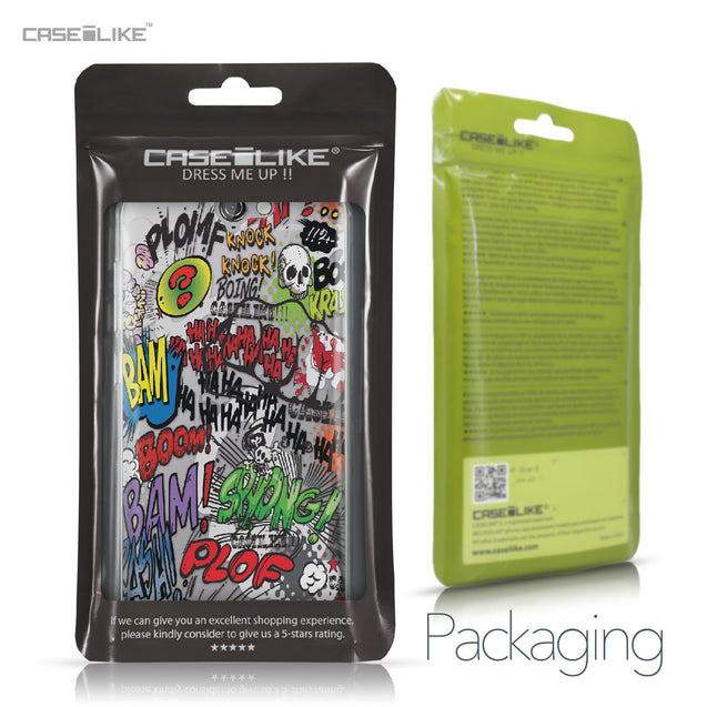 HTC One A9 case Comic Captions 2914 Retail Packaging | CASEiLIKE.com