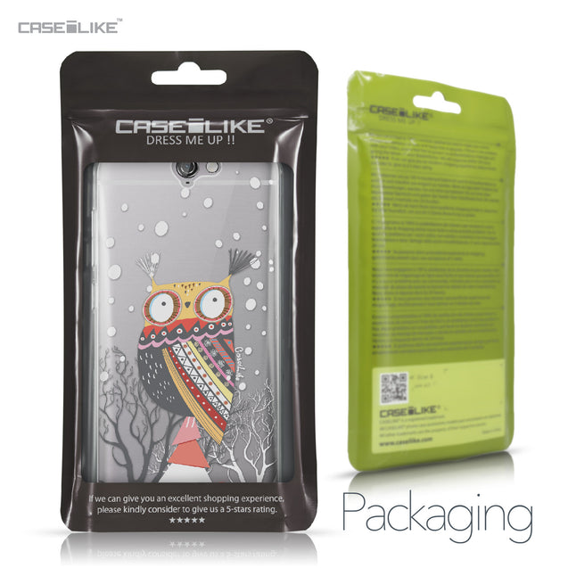 HTC One A9 case Owl Graphic Design 3317 Retail Packaging | CASEiLIKE.com