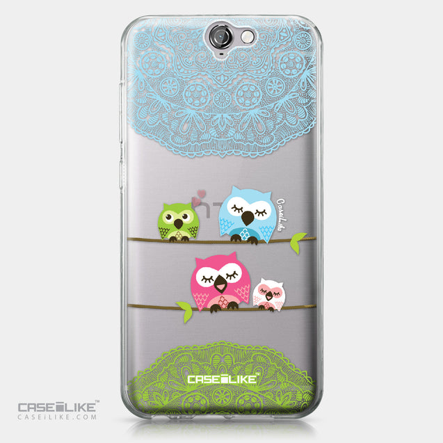 HTC One A9 case Owl Graphic Design 3318 | CASEiLIKE.com