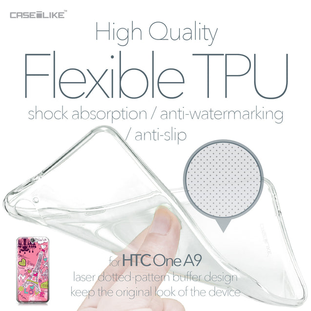 HTC One A9 case Paris Holiday 3905 Soft Gel Silicone Case | CASEiLIKE.com