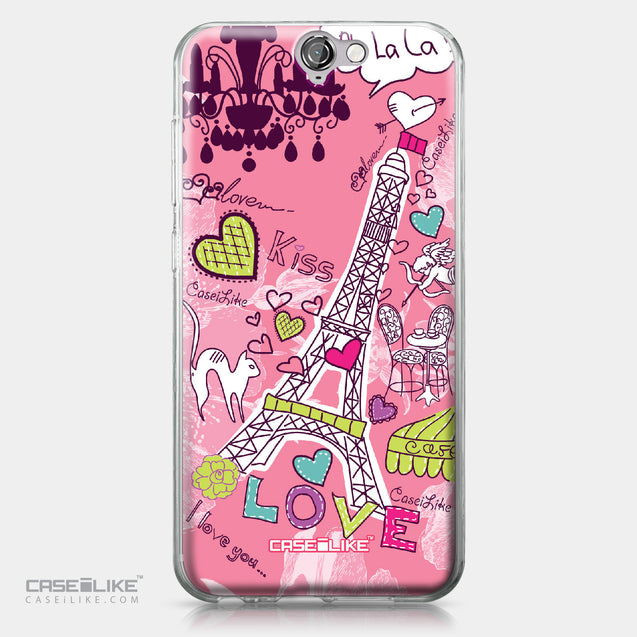 HTC One A9 case Paris Holiday 3905 | CASEiLIKE.com
