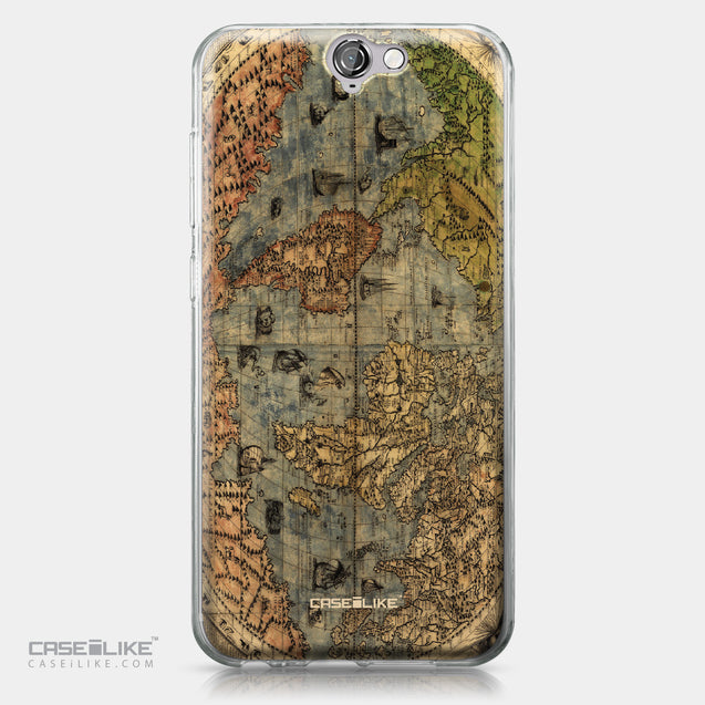 HTC One A9 case World Map Vintage 4608 | CASEiLIKE.com