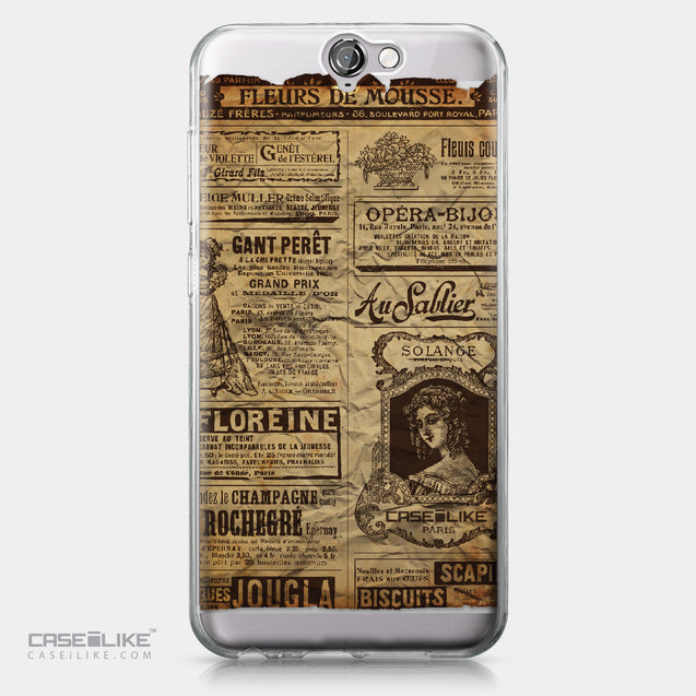 HTC One A9 case Vintage Newspaper Advertising 4819 | CASEiLIKE.com