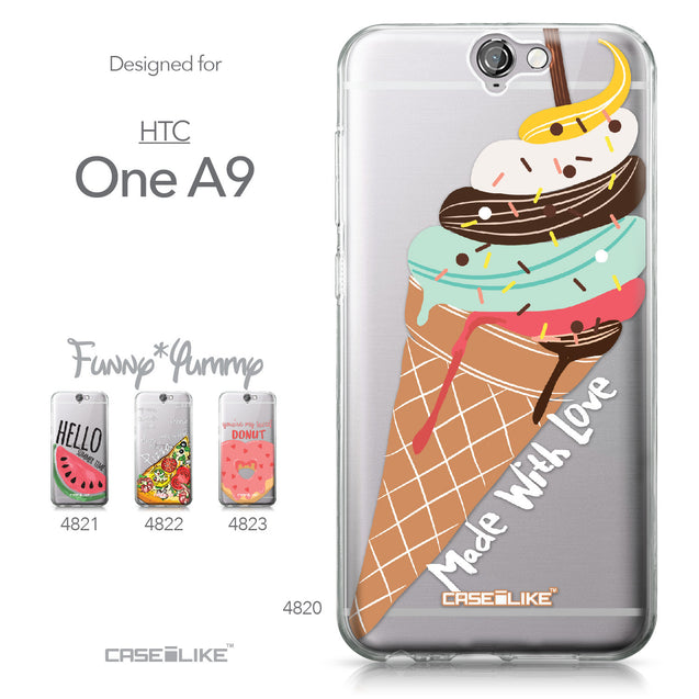 HTC One A9 case Ice Cream 4820 Collection | CASEiLIKE.com