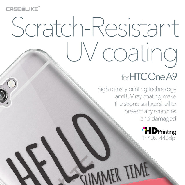 HTC One A9 case Water Melon 4821 with UV-Coating Scratch-Resistant Case | CASEiLIKE.com