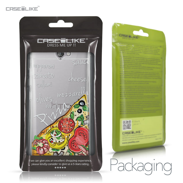 HTC One A9 case Pizza 4822 Retail Packaging | CASEiLIKE.com