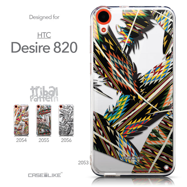 Collection - CASEiLIKE HTC Desire 820 back cover Indian Tribal Theme Pattern 2053