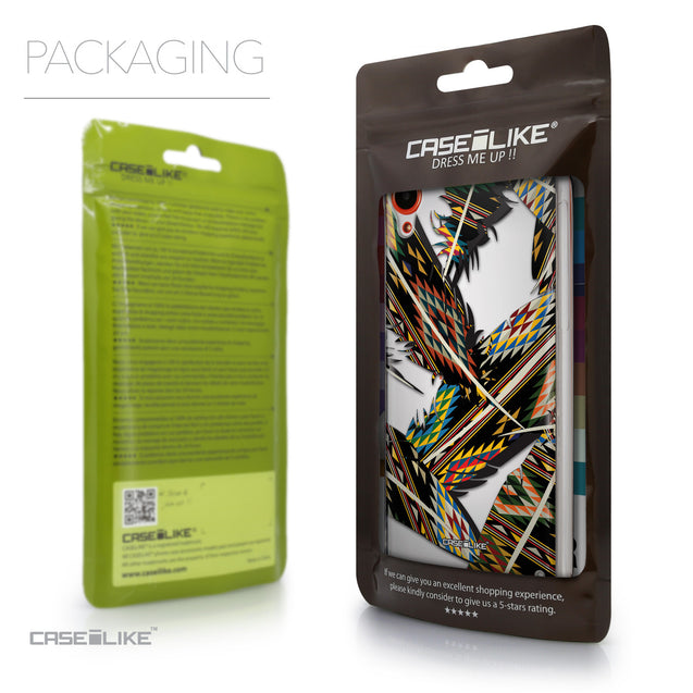 Packaging - CASEiLIKE HTC Desire 820 back cover Indian Tribal Theme Pattern 2053