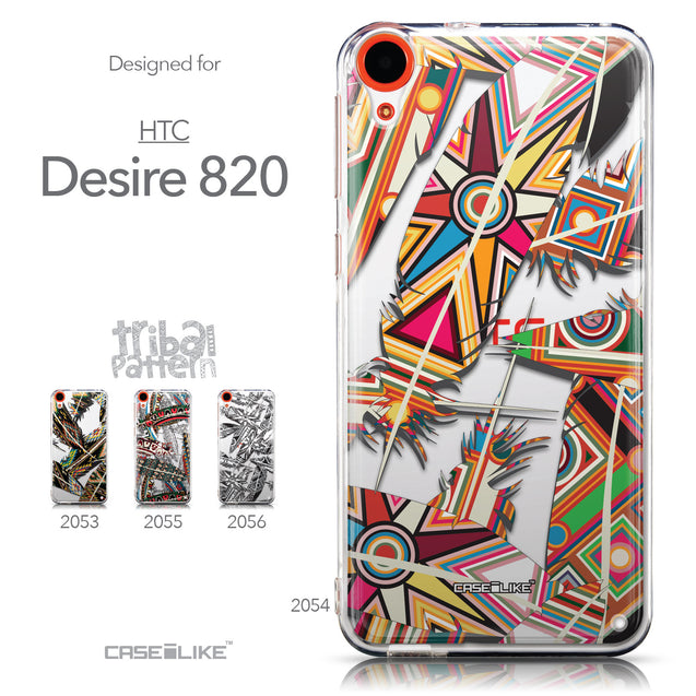 Collection - CASEiLIKE HTC Desire 820 back cover Indian Tribal Theme Pattern 2054