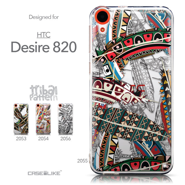 Collection - CASEiLIKE HTC Desire 820 back cover Indian Tribal Theme Pattern 2055