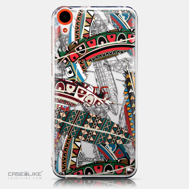 CASEiLIKE HTC Desire 820 back cover Indian Tribal Theme Pattern 2055