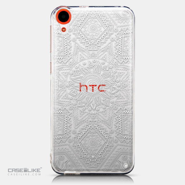 CASEiLIKE HTC Desire 820 back cover Indian Line Art 2061