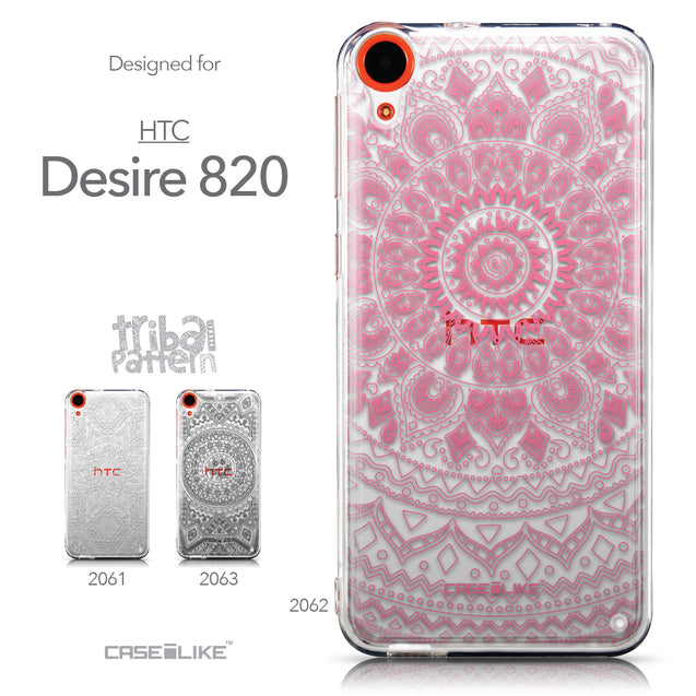 Collection - CASEiLIKE HTC Desire 820 back cover Indian Line Art 2062