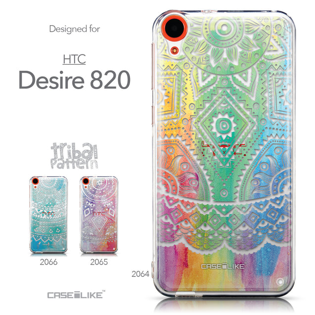 Collection - CASEiLIKE HTC Desire 820 back cover Indian Line Art 2064