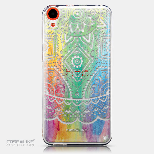 CASEiLIKE HTC Desire 820 back cover Indian Line Art 2064