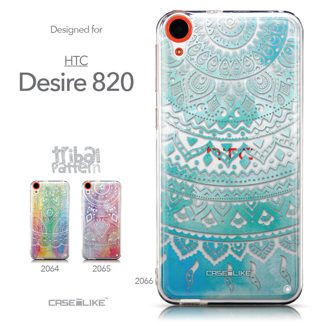 Collection - CASEiLIKE HTC Desire 820 back cover Indian Line Art 2066