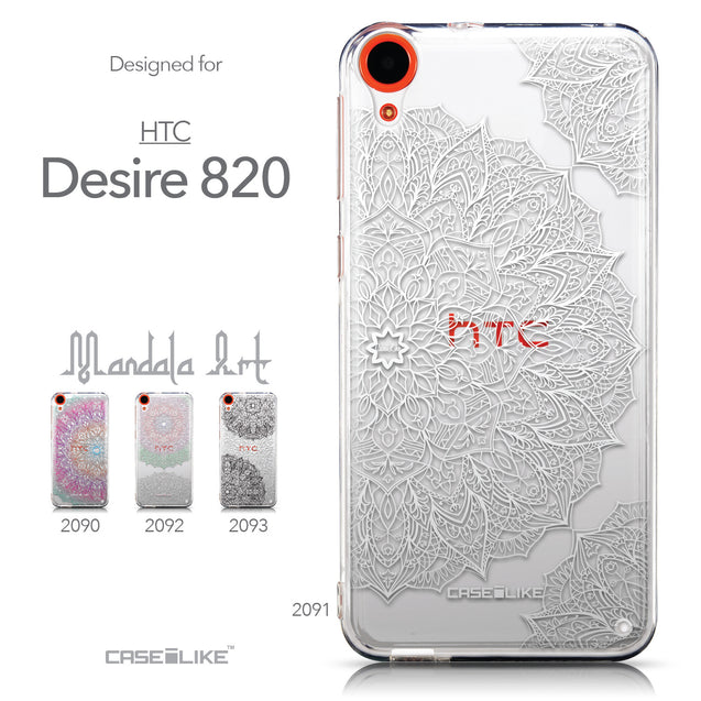Collection - CASEiLIKE HTC Desire 820 back cover Mandala Art 2091