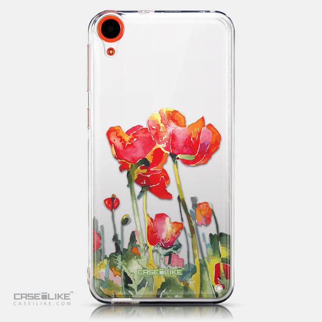 CASEiLIKE HTC Desire 820 back cover Watercolor Floral 2230
