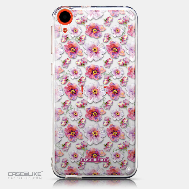 CASEiLIKE HTC Desire 820 back cover Watercolor Floral 2232
