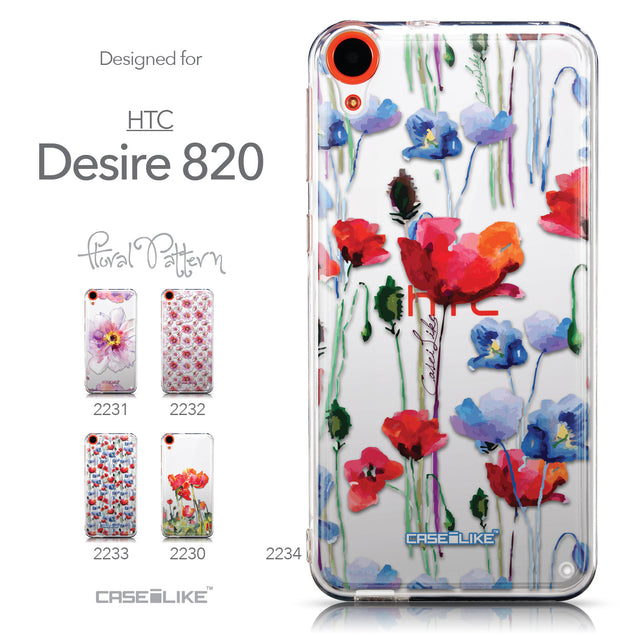 Collection - CASEiLIKE HTC Desire 820 back cover Indian Line Art 2061