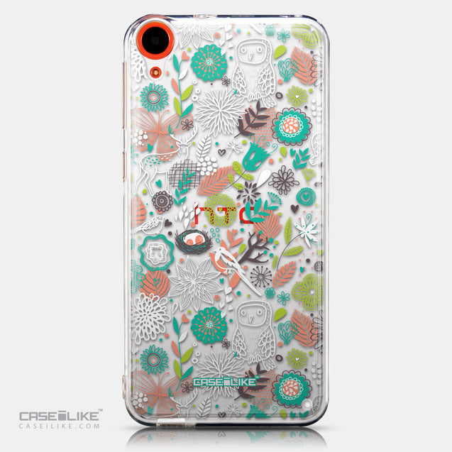 CASEiLIKE HTC Desire 820 back cover Spring Forest White 2241