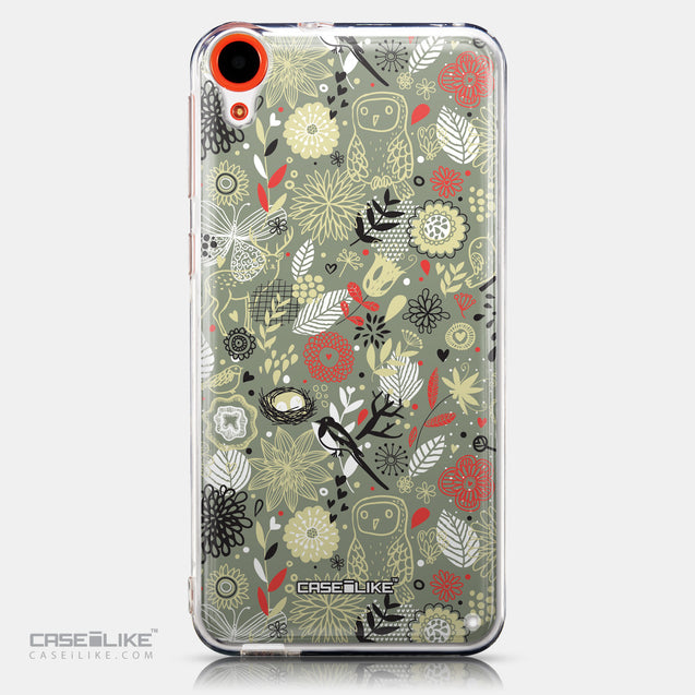 CASEiLIKE HTC Desire 820 back cover Spring Forest Gray 2243