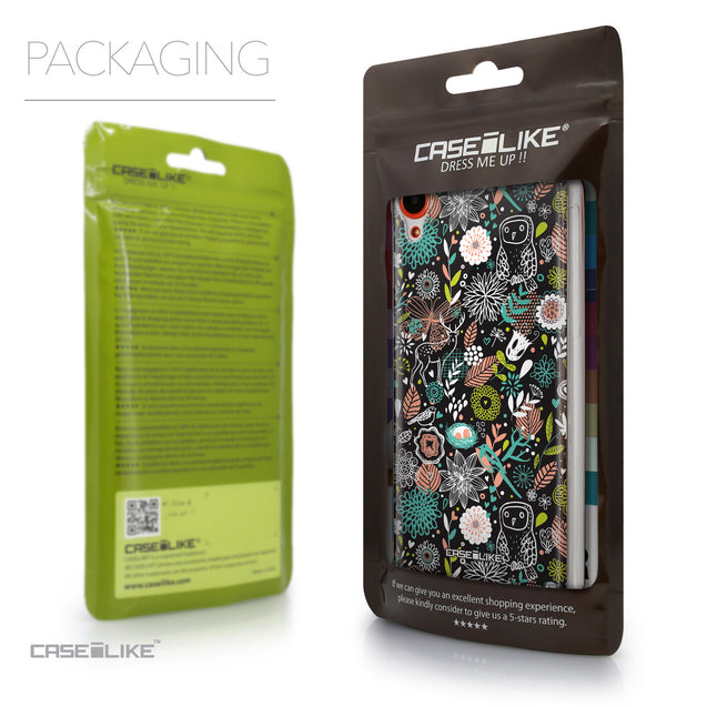 Packaging - CASEiLIKE HTC Desire 820 back cover Spring Forest Black 2244