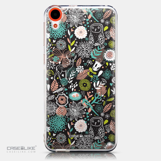 CASEiLIKE HTC Desire 820 back cover Spring Forest Black 2244