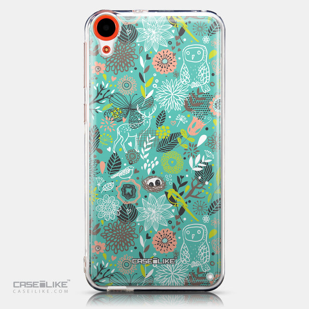 CASEiLIKE HTC Desire 820 back cover Spring Forest Turquoise 2245