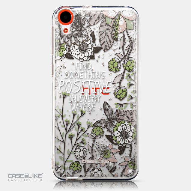 CASEiLIKE HTC Desire 820 back cover Blooming Flowers 2250