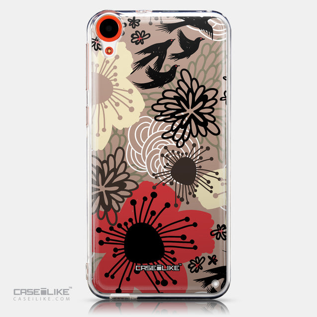 CASEiLIKE HTC Desire 820 back cover Japanese Floral 2254