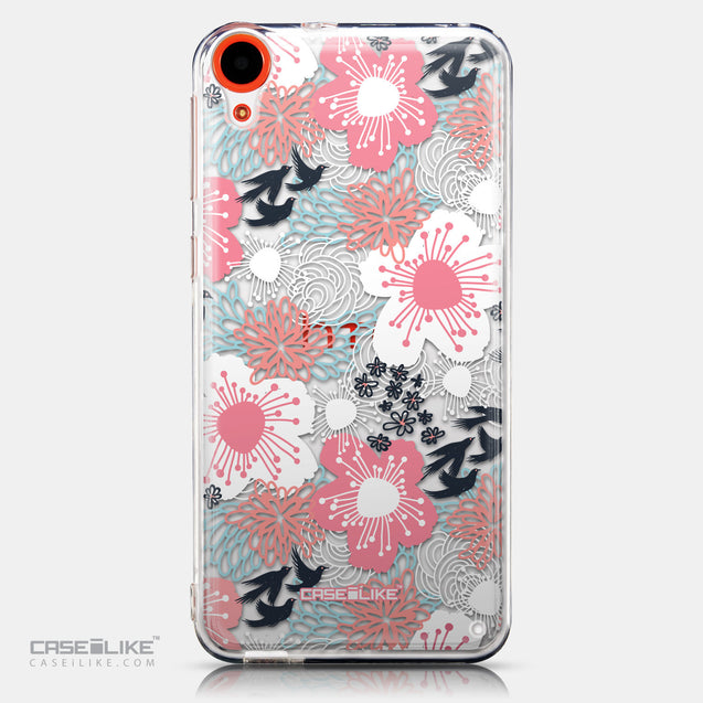 CASEiLIKE HTC Desire 820 back cover Japanese Floral 2255