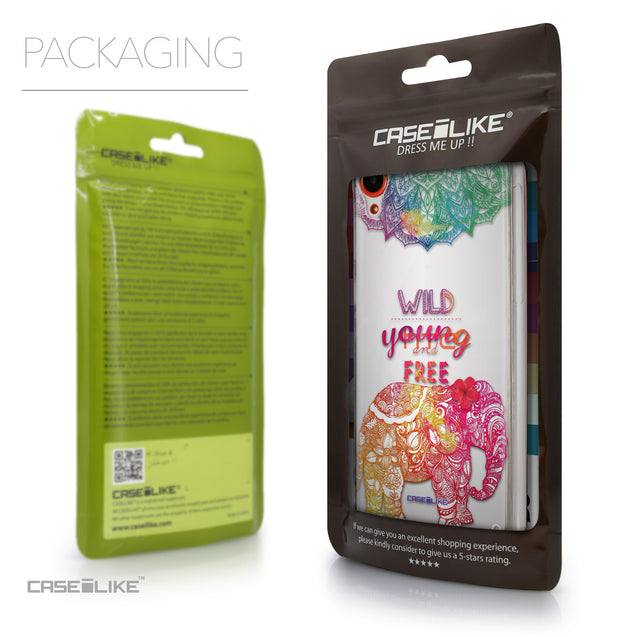 Packaging - CASEiLIKE HTC Desire 820 back cover Mandala Art 2302
