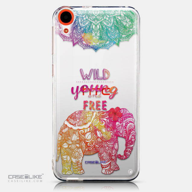 CASEiLIKE HTC Desire 820 back cover Mandala Art 2302