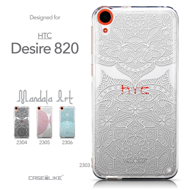 Collection - CASEiLIKE HTC Desire 820 back cover Mandala Art 2303