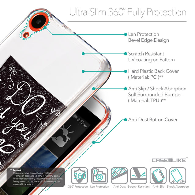 Details in English - CASEiLIKE HTC Desire 820 back cover Quote 2400