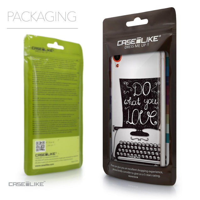 Packaging - CASEiLIKE HTC Desire 820 back cover Quote 2400