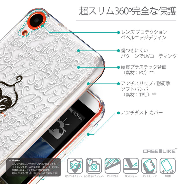 Details in Japanese - CASEiLIKE HTC Desire 820 back cover Indian Tribal Theme Pattern 2053