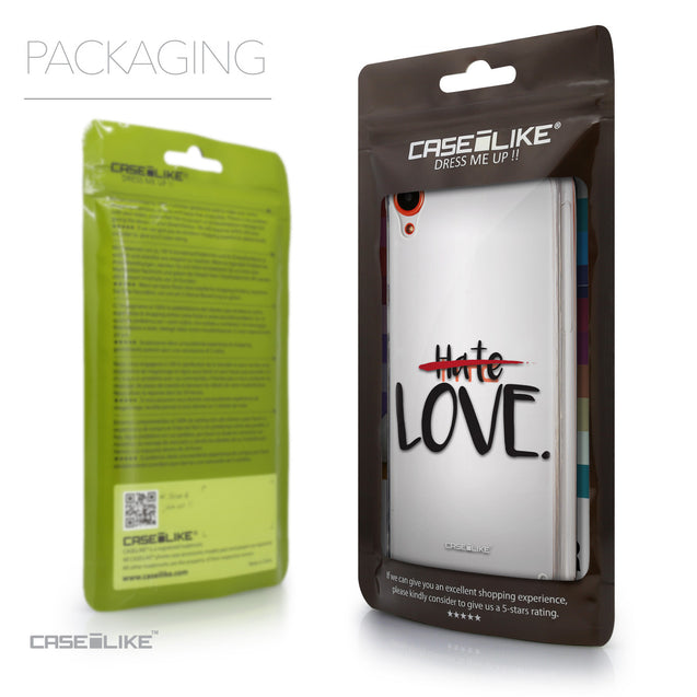Packaging - CASEiLIKE HTC Desire 820 back cover Quote 2406