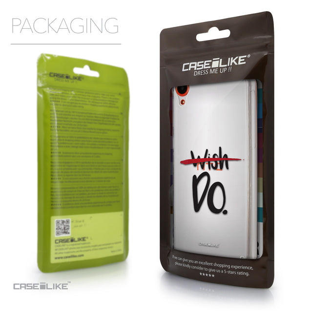 Packaging - CASEiLIKE HTC Desire 820 back cover Quote 2407