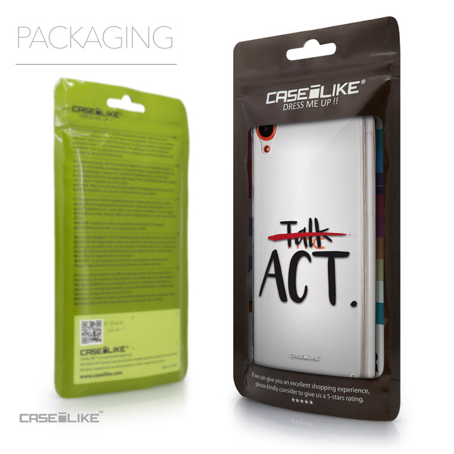 Packaging - CASEiLIKE HTC Desire 820 back cover Quote 2408