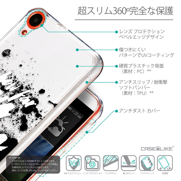 Details in Japanese - CASEiLIKE HTC Desire 820 back cover Quote 2413