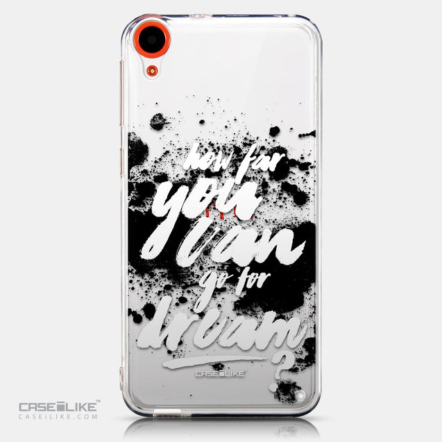 CASEiLIKE HTC Desire 820 back cover Quote 2413