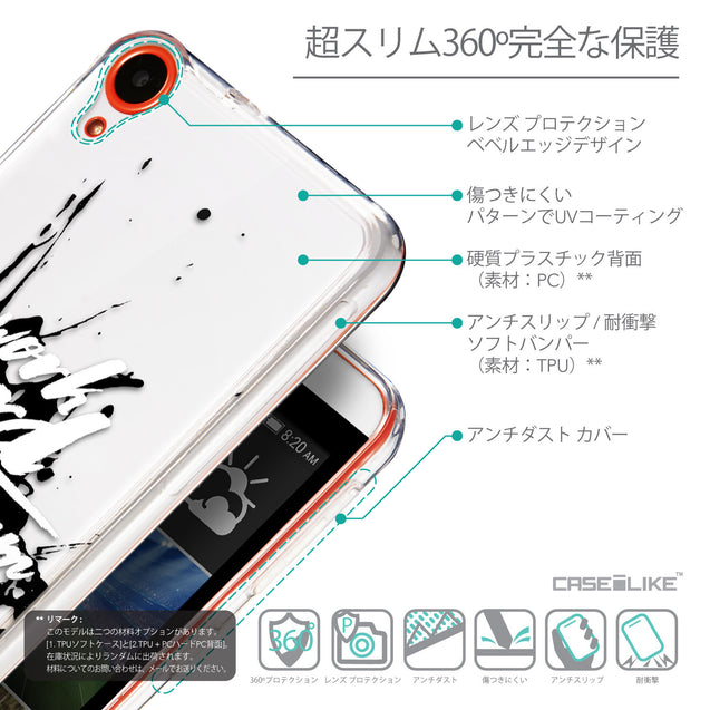 Details in Japanese - CASEiLIKE HTC Desire 820 back cover Quote 2414