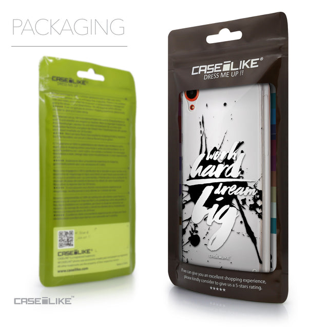 Packaging - CASEiLIKE HTC Desire 820 back cover Quote 2414