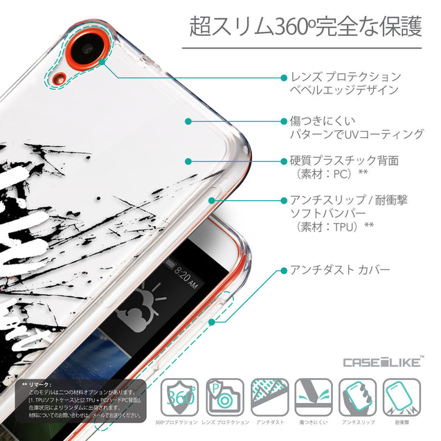 Details in Japanese - CASEiLIKE HTC Desire 820 back cover Quote 2416